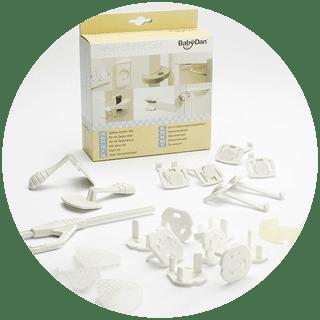 BabyDan 22pc Home Safety Starter Set Icon image