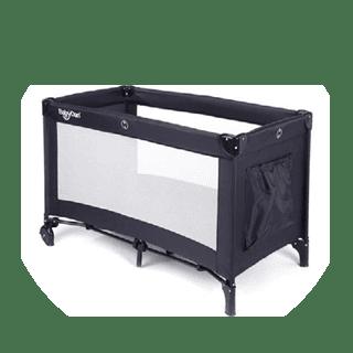 BabyDan Travel Cot Extra Large 60x120x80cm Icon
