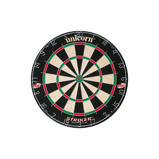 Unicorn Striker Bristle PDC Dartboard