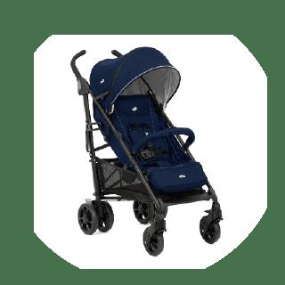 JOIE Brisk LX Stroller inc. Footmuff Pavement