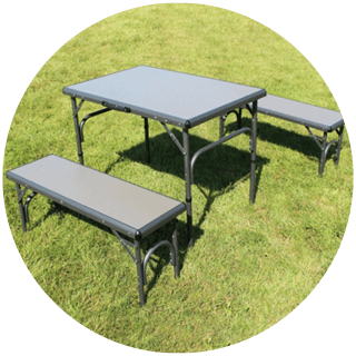 Outdoor Revolution Camping Table and Bench Set Icon