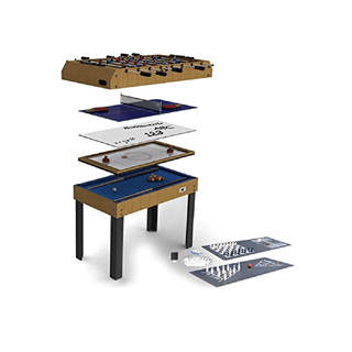 Riley 4' 12-In-1 Folding Games Table