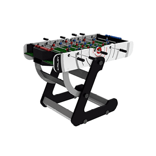 Riley Vr-90 4' Vertical Folding Football Table