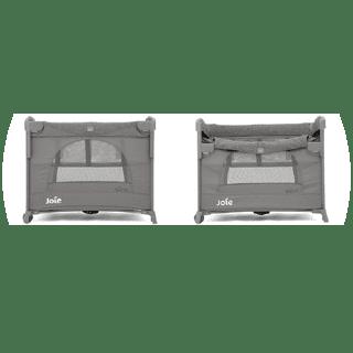 JOIE Kubbie Sleep Travel Cot Foggy Grey