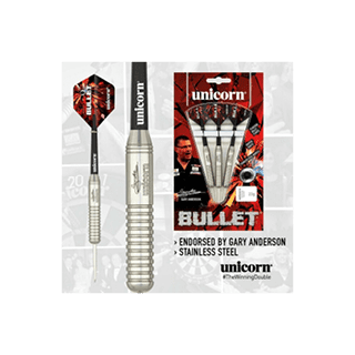 Unicorn Bullet Stainless Steel Gary Anderson Dart Set