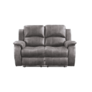 Boston Charcoal 2 Seater Reclining Sofa