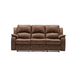 Boston Saddle 3 Seater Reclining Sofa