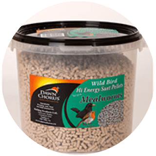 Suet 3kg Bucket - Insect Suet Pellets Icon