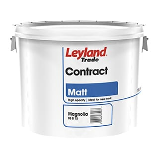 Leyland Contract Matt Magnolia 10L