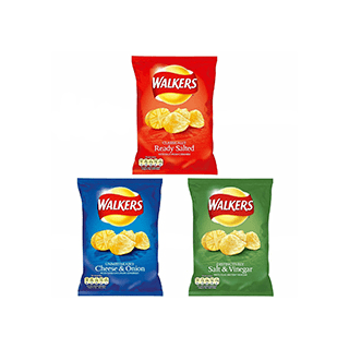 Walkers Crisps Cheese & Onion 90g
