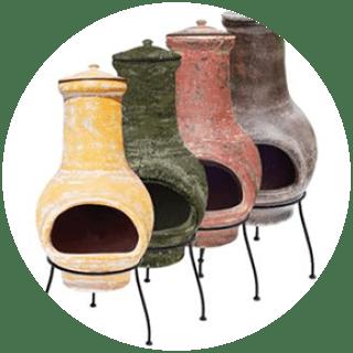La Hacienda  Clay Chiminea Essentials Medium Icon