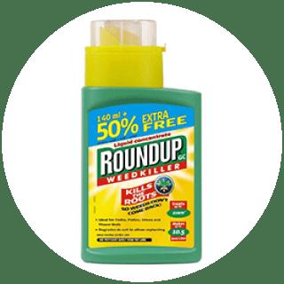 Round Up Optima Weedkiller 140ML + 50% FREE Icon