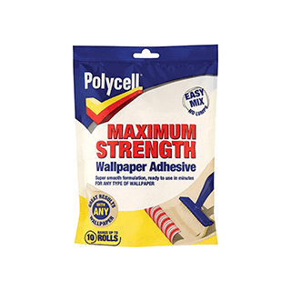 Polycell Max Strength Wallpaper Adhesive 5 Rolls £2.39