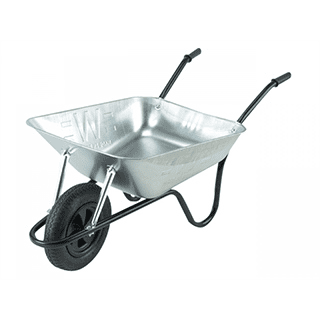 Walsall Contractor Galvanised Barrow 85L Puncture Proof £46.99