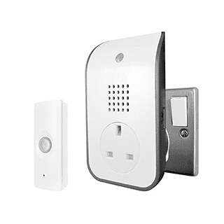 Curve Plug Through Door Chime £16.99 roll over
