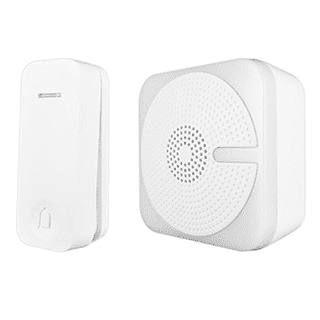 Kinetic Portable Door Chime - White, Black £13.49 roll over