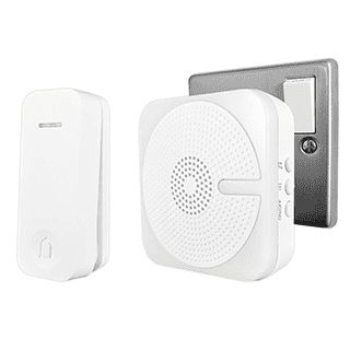 Kinetic Plug In Door Chime - White, Black £13.99 roll over