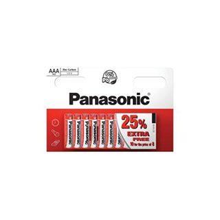 Panasonic AAA 8 Pack + 25% Free £0.99