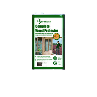 Wood Protector D.Brown 2.5Ltr £8.39 Roll over