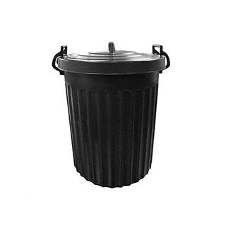 100L Black Dustbin £8.79