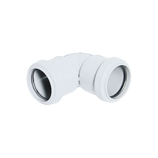 32/40mm Push-Fit Waste System - Fittings White