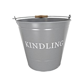 Grey Kindling Bucket £8.99