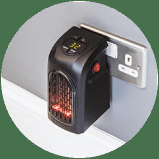 Handy Plug-In Heater £17.99