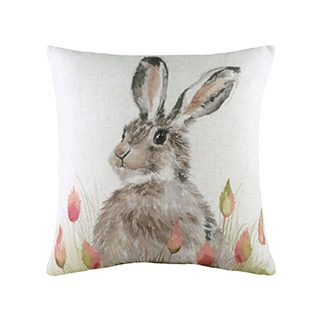 43cm K E Hedgerow Hare Cushion £8.49 roll over