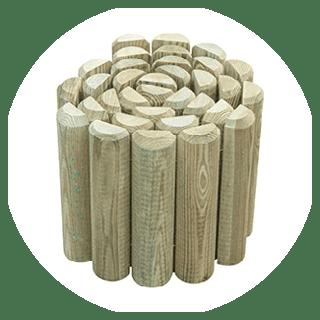 Log edging roll 15cm H x 180 cm W £3.69 Icon