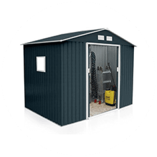 Sinolily Archer Plus Metal Garden Shed from £179.99 Icon
