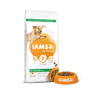 Iams Adult Dry Dog Chicken 12Kg £24.49 Icon