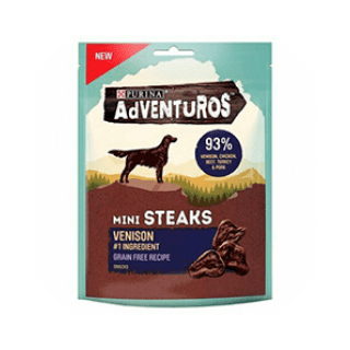 Adventuroes Mini Steak Dog Treats £2.49 Icon