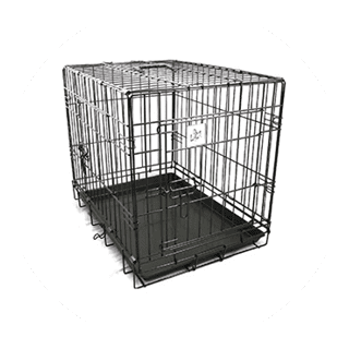 Small Double Door Dog Crate £19.49 Icon