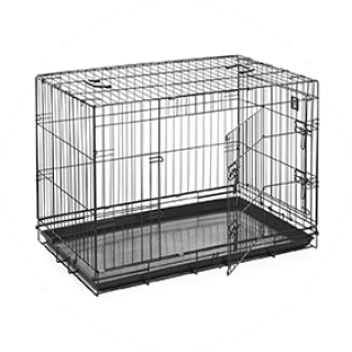 Large Double Door Dog Crate £34.99 Icon