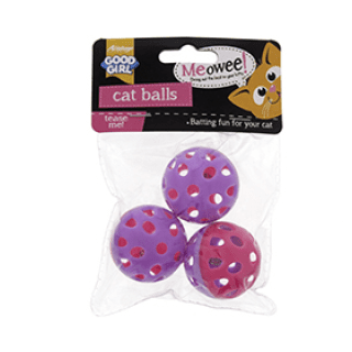GoodGirl Cat Ball 3pack £0.65p Icon