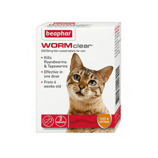 Baephar Wormclear Cat £4.45 Icon
