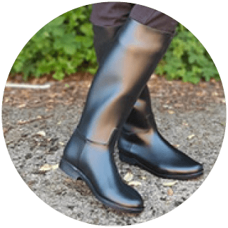 Gallop Long Riding Rubber Boot