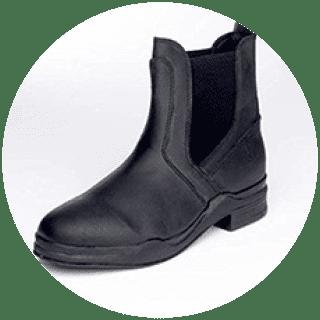 Waxy Leather Jod Boot
