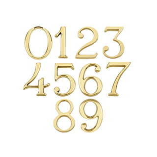 House Numerals from 99p