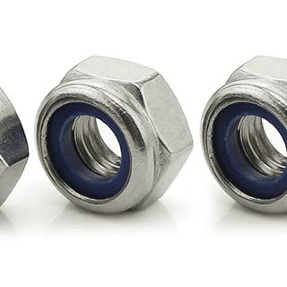 Nylon locking nuts 59p-£5.39