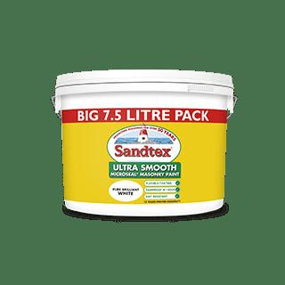 Sandtex Brilliant White 7.5L