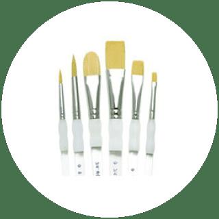 Single Soft Grip Brushes
