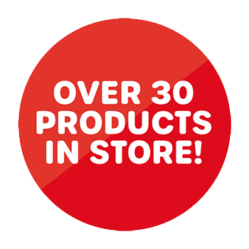 Over 30 products in store