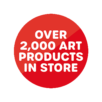 Over 2000 art products in store