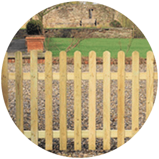 Sawn Palisade Round 6'x2' £10.55 Icon