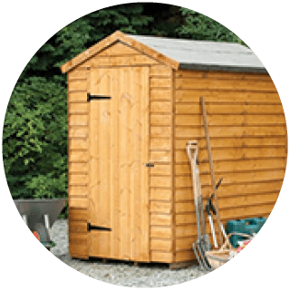 Forest 6x4 Garden Shed £169 Icon