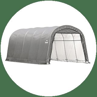 Shelter Logic Canvas Shed 20ft £349.99 Icon