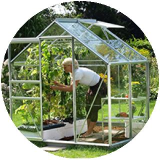 Vitavia Venus 2500  6' x 4' greenhouse, includes Free Bsse £199.49 Icon
