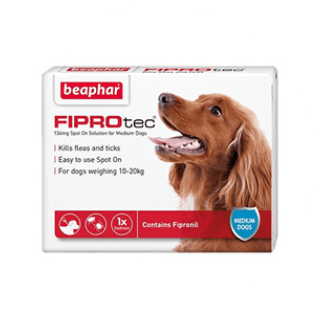 FIPROtec® Spot on Medium Dog £4.55 Icon