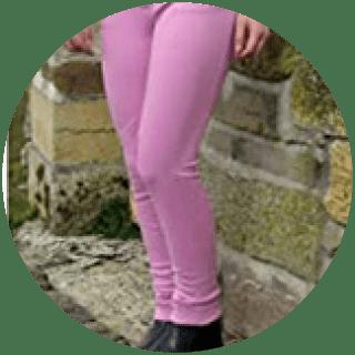 Gallop Childrens Baby Pink Jodhpurs